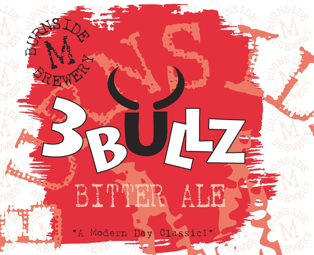 3 BULLZ curiously familiar bitter ale