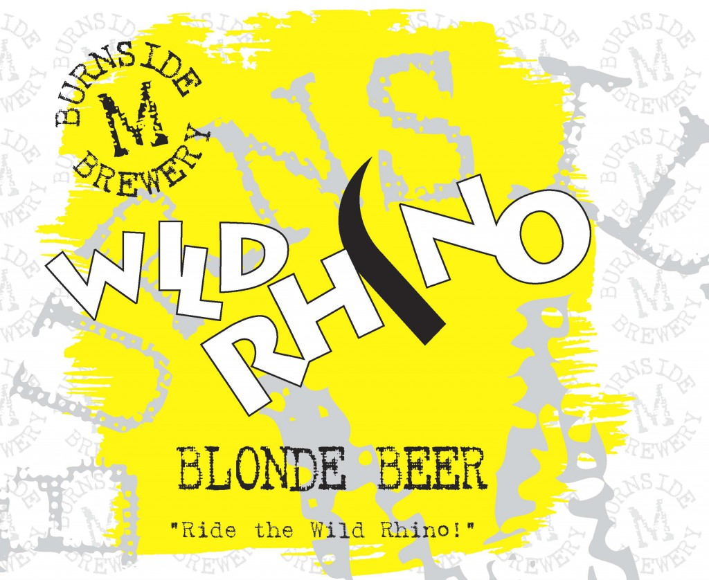 WILD RHINO Blonde Beer