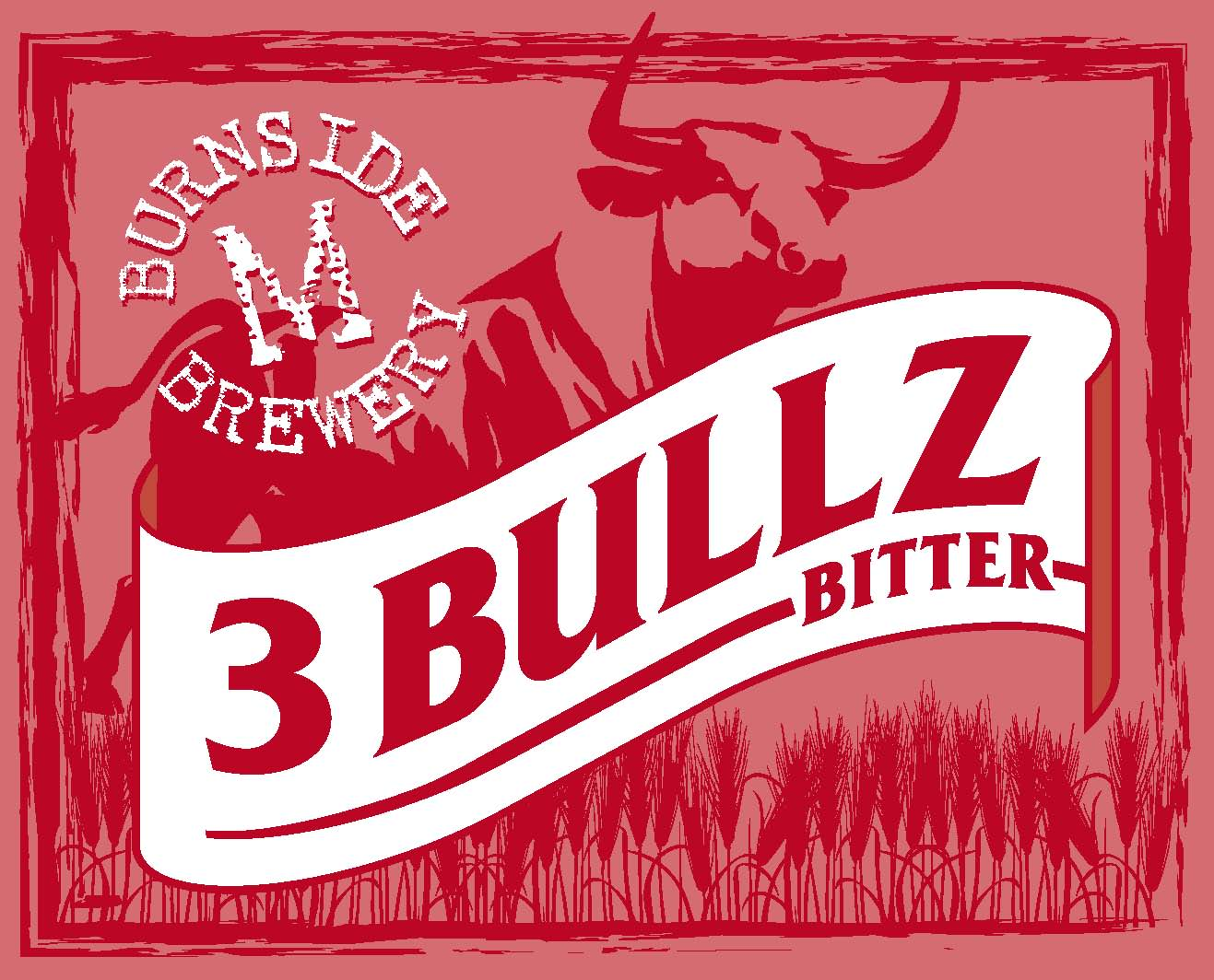 2. 3 BULLZ curiously familiar bitter ale