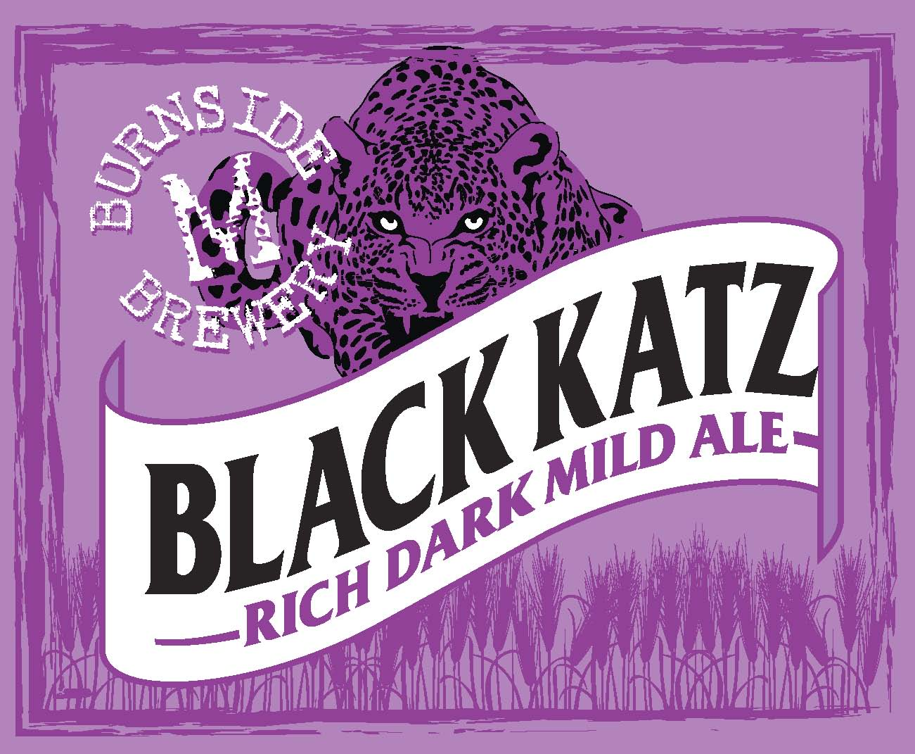 1. BLACK KATZ dark mild ale